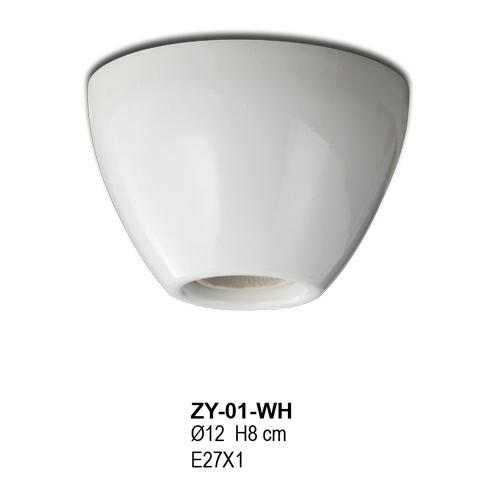 ZY-01-WH (Ø12 H8 cm)