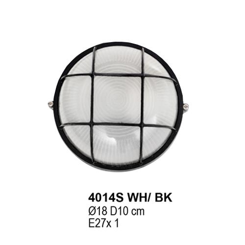 4014S WH/BK E27 x 1