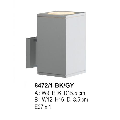 8472/1 BK/GY