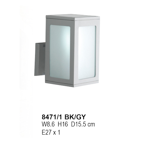 8471/1 BK/GY- E-27 X 1