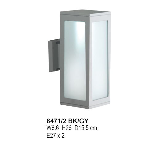 8471/ E27x2-BK/GY