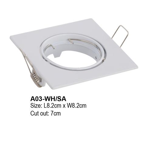 A03-WH/SA (L8.2 x W8.2 cm)