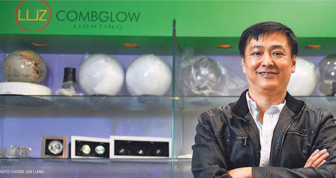 Combglow Featured in The Straits Times